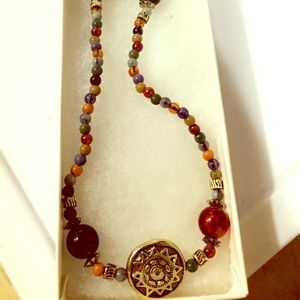Jewelry - Multi-gemstone beaded necklace